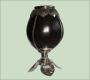 Калабас Мисионес из тыквочки с отделкой из никелированной бронзы